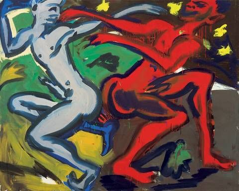 Artist Rainer Fetting - FindArtinfo