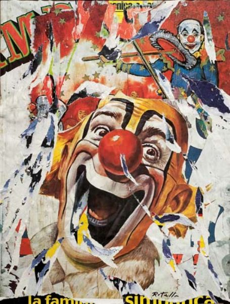 Art Pictures Artist Mimmo Rotella