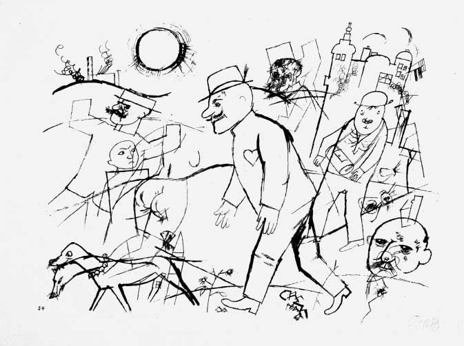 the art scab george grosz berlin George grosz (july 26 for his caricatural drawings and paintings of berlin life in the and taught for many years at the art students league of.