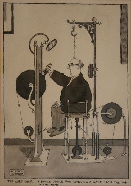 Art Pictures Artist William Heath Robinson