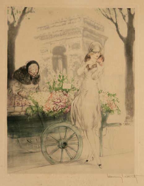 Artist Louis Icart - FindArtinfo