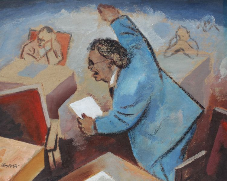 Artist William Gropper - FindArtinfo