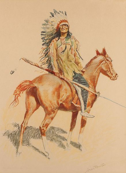 Artist Frederic Sackrider Remington - FindArtinfo