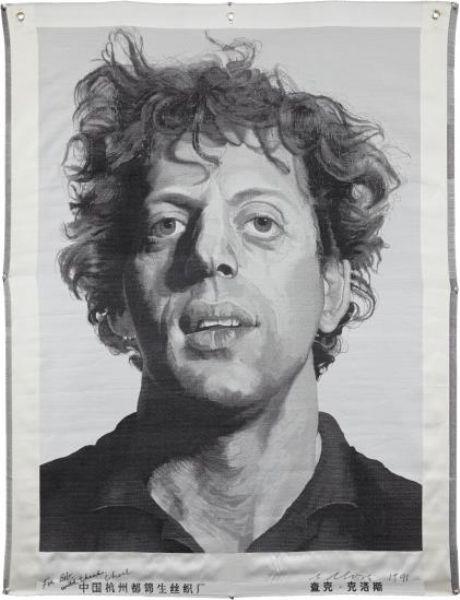 Artist Chuck Close - FindArtinfo