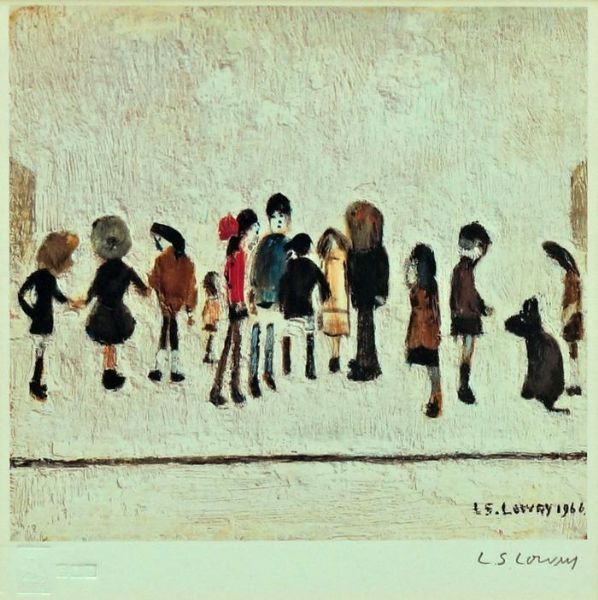 Artist Laurence Stephen Lowry - FindArtinfo