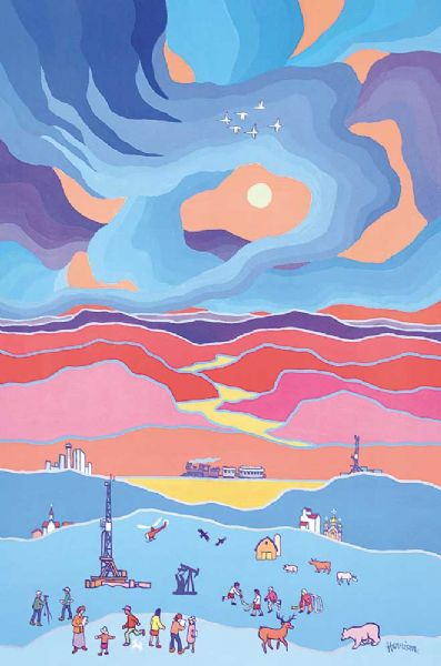 Artist Ted Harrison - FindArtinfo