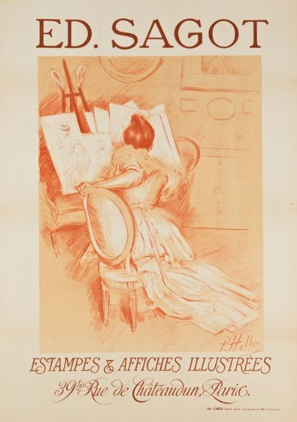 Artist Paul Cesar Helleu - FindArtinfo